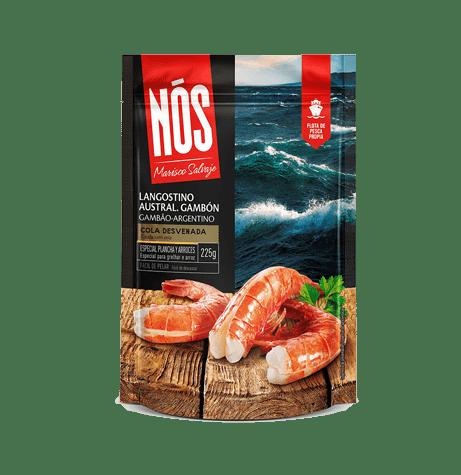 Crevettes Rouges D'Argentine avec queues