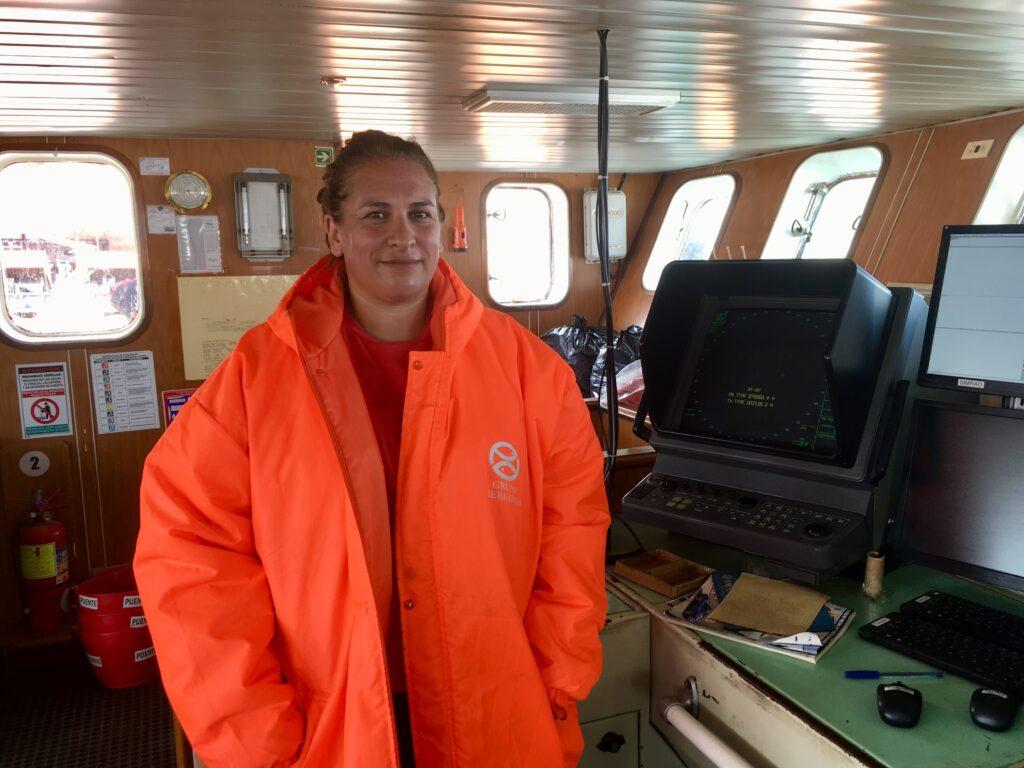 Vanessa Bidart devient la première capitaine d'Iberconsa