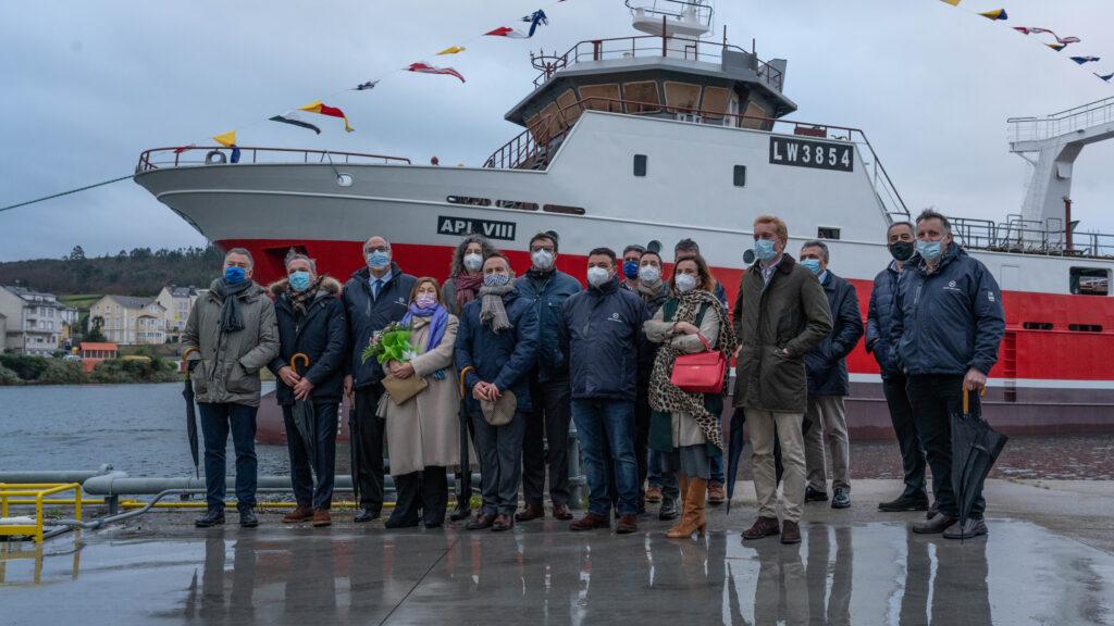 Groupe Iberconsa célèbre le lancement de deux nouveaux navires