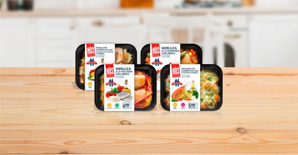 Nous lançons Nós DirectoalPlato (Directement dans l'assiette), une nouvelle gamme de plats cuisinés